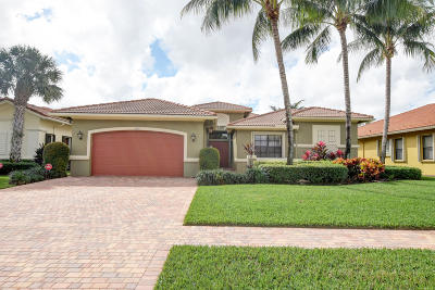 Boynton Beach Single Family Home For Sale: 7007 Antinori Lane