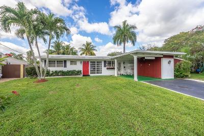 Fort Lauderdale Single Family Home For Sale: 2449 Key Largo Lane