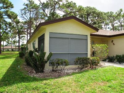 Delray Beach Single Family Home Contingent: 13960 Nesting Way #A