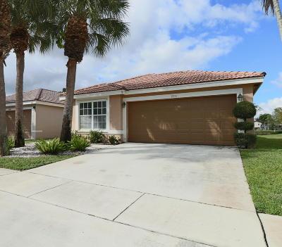 Boynton Beach Single Family Home For Sale: 8341 Bermuda Sound Way
