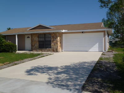 Single Family Home Sold: 554 SE Oceanspray Terrace