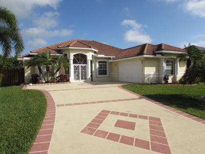 Port Saint Lucie Single Family Home Contingent: 6139 NW Gaylord Terrace