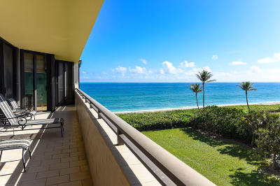 Palm Beach Condo For Sale: 3100 S Ocean Boulevard #405s