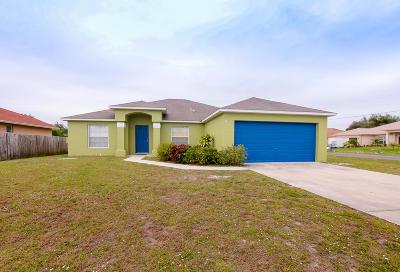 Port Saint Lucie Single Family Home For Sale: 901 SW Gwendolen Terrace