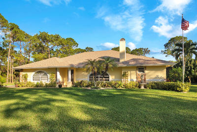 West Palm Beach Single Family Home Contingent: 9280 Seminole Pratt Whitney Road