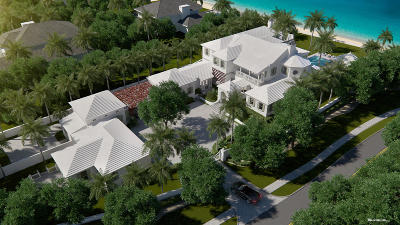 Palm Beach Single Family Home For Sale: 901 Ocean Boulevard