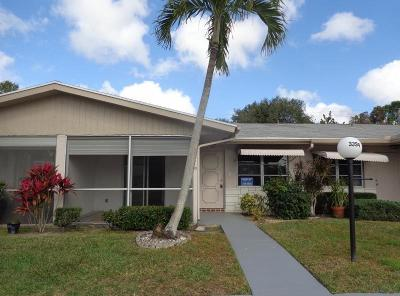 West Palm Beach Single Family Home Contingent: 3394 Americo Drive #44