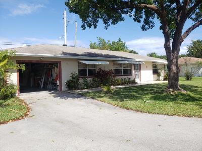 Deerfield Beach Single Family Home Contingent: 514 SW Natura Avenue