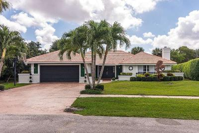 Boca Raton Single Family Home For Sale: 7054 San Sebastian Circle Circle