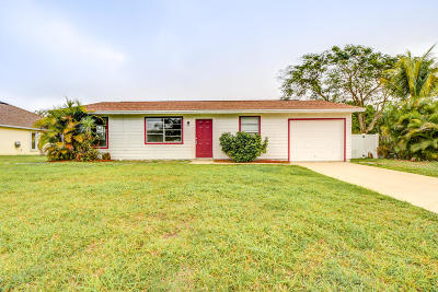 Port Saint Lucie FL Single Family Home For Sale: $189,888