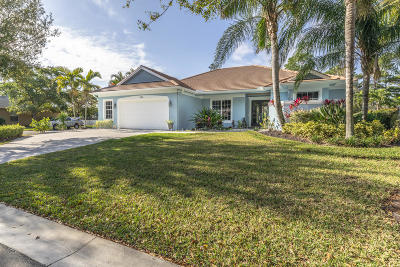 Palm City Single Family Home For Sale: 2398 SW Oak Ridge Road