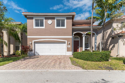 Riviera Beach Single Family Home For Auction: 1095 Center Stone Lane
