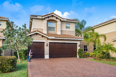 Boynton Beach Single Family Home For Sale: 11603 Mantova Bay Circle