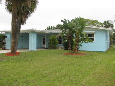 Fort Pierce Single Family Home Contingent: 352 Fernandina Street