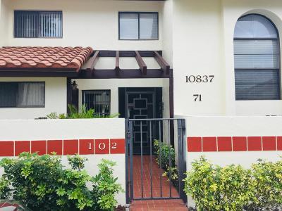 Boynton Beach Condo For Sale: 10837 Bahama Palm Way #102