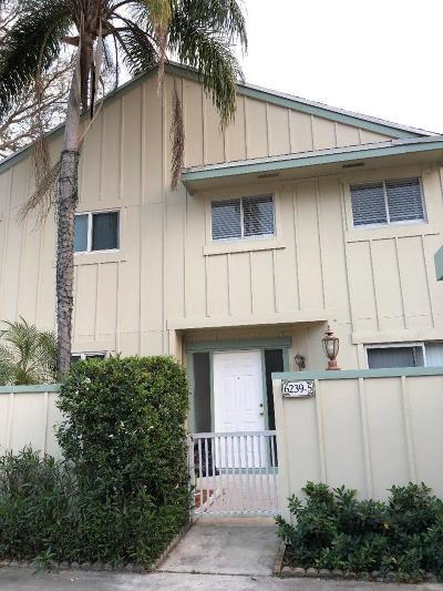 Jupiter Townhouse Contingent: 6239 Riverwalk Lane #5