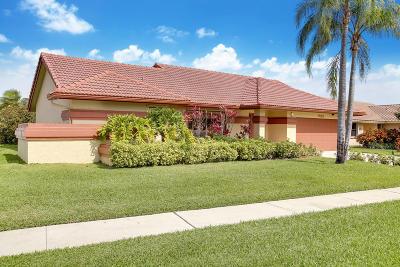 Boynton Beach Single Family Home For Sale: 9525 Majestic Way