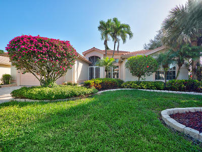 Boynton Beach Single Family Home For Sale: 11505 Pamplona Boulevard
