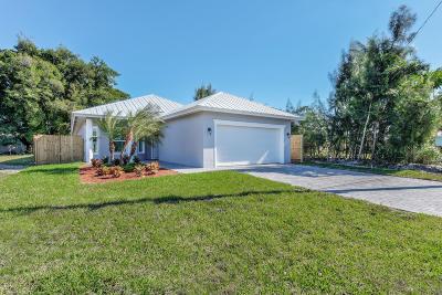 Jupiter Single Family Home For Sale: 17742 Evangeline Avenue