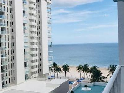 Pompano Beach Rental For Rent: 1010 S Ocean Boulevard #911