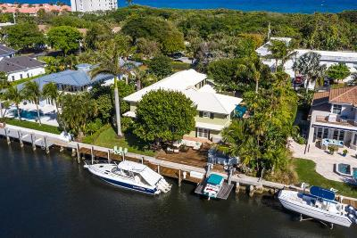 Ocean Ridge Single Family Home For Sale: 57 River Drive