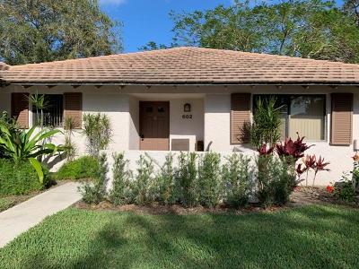 Palm Beach Gardens Single Family Home For Sale: 602 Club Drive