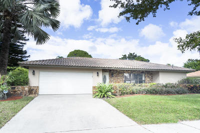 Boca Raton Single Family Home For Sale: 2411 NW 35th Street
