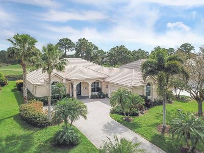 Port Saint Lucie Single Family Home For Sale: 8024 Links Way