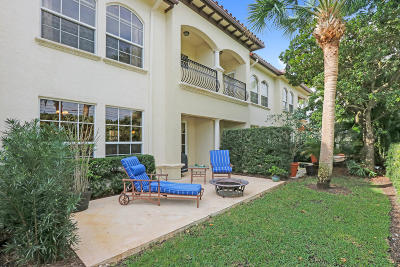 Palm Beach Gardens Townhouse For Sale: 62 Marina Gardens Drive