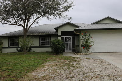 Palm City Single Family Home For Sale: 4484 SW Boatramp Avenue