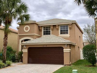 Royal Palm Beach Single Family Home For Sale: 1310 Isleworth Court