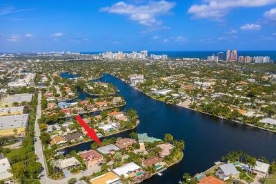 Fort Lauderdale Single Family Home For Sale: 2213 NE 16 Street