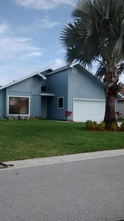 Hobe Sound Single Family Home For Sale: 6263 SE Ames Way