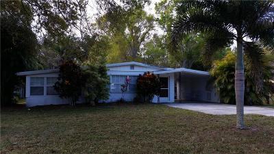 Fort Pierce Single Family Home Contingent: 611 Brack Road