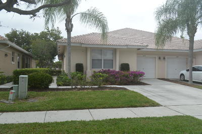 Delray Beach Single Family Home For Sale: 2545 Coral Trace Circle
