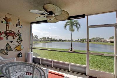 Boca Raton Single Family Home Contingent: 9184 Flynn Circle #5