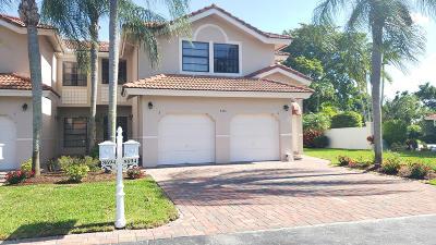 Boca Raton Single Family Home For Sale: 8694 Via Reale #61l