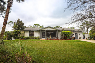 Palm Beach Gardens Single Family Home For Sale: 15722 83rd Way