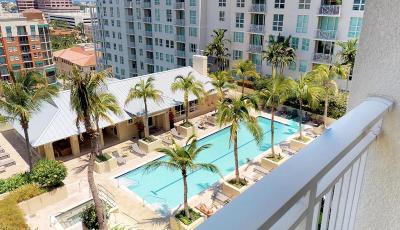 City Palms, City Palms Condo, City Palms Condominium, City Palms At City Place, City Palms Condo At City Place, City Palms Condominiums Rental For Rent: 480 Hibiscus Street #812
