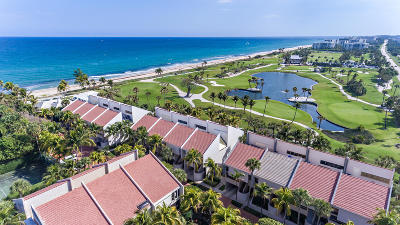 Palm Beach Townhouse For Sale: 2335 S Ocean Boulevard #12d