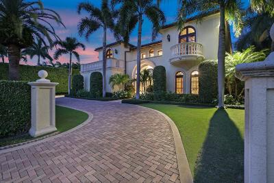 Palm Beach FL Single Family Home For Sale: $13,900,000