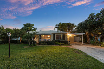 Delray Beach FL Single Family Home For Sale: $599,000