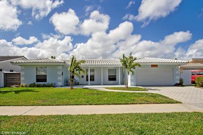 Fort Lauderdale Single Family Home For Sale: 5821 NE 21st Terrace