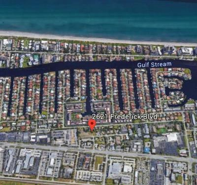Delray Beach Residential Lots & Land For Sale: 2621 Frederick Boulevard