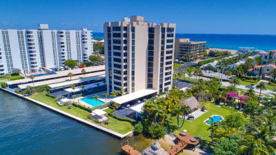 Delray Beach Condo For Sale: 2220 S Ocean Boulevard #704