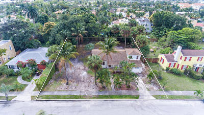 West Palm Beach Single Family Home For Sale: 218 Edgewood Drive