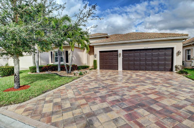 Boynton Beach Single Family Home For Sale: 10796 Regatta Ridge Road