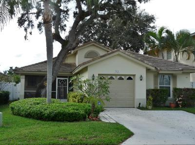 Boynton Beach Single Family Home For Sale: 7821 Manor Forest Court