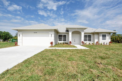 Loxahatchee Single Family Home Contingent: 15439 75th Lane