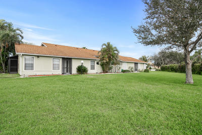 West Palm Beach Single Family Home For Sale: 4339 Willow Pond Circle